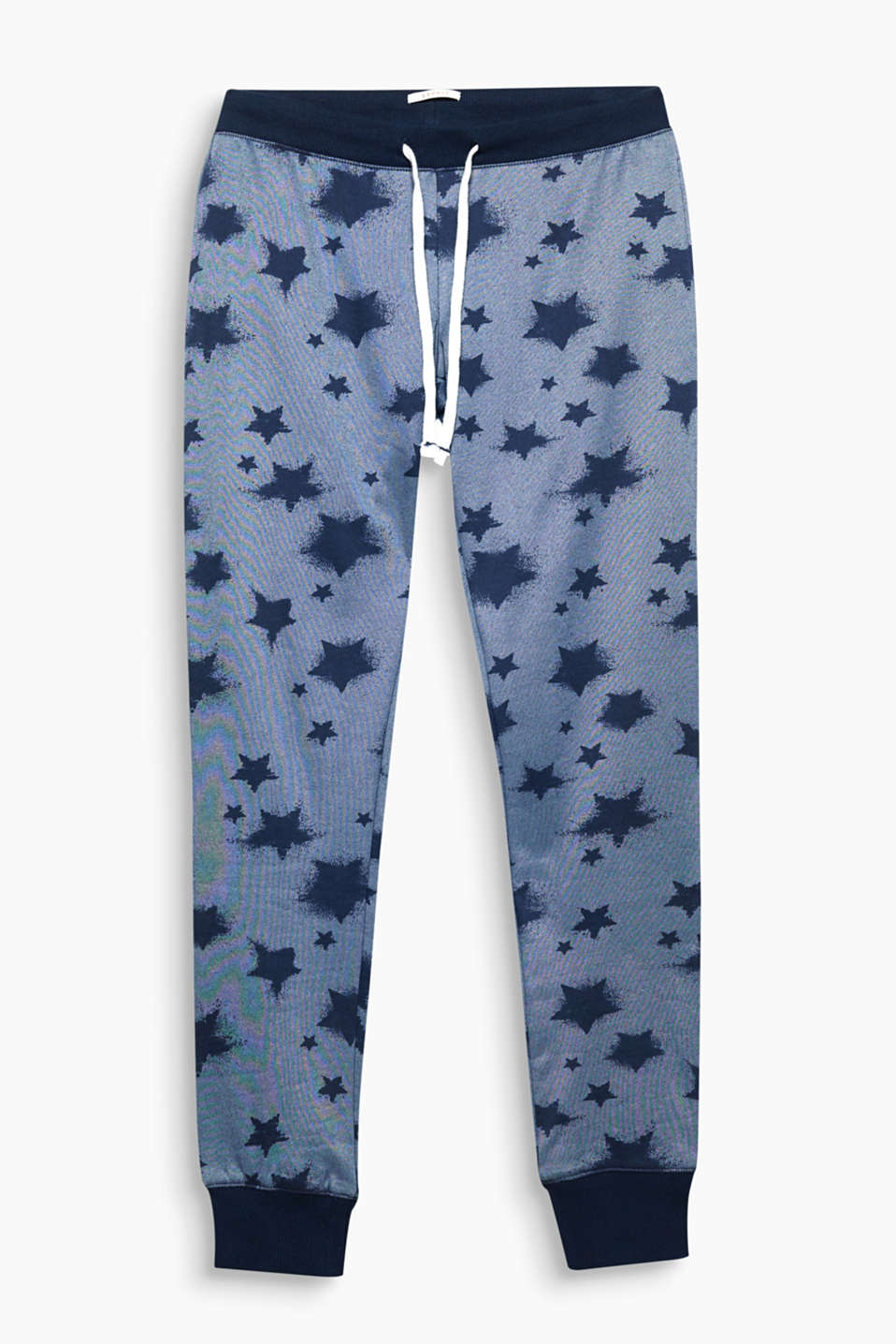 Heavenly print and mega comfy on the inside: the stars and towelling lining make these sweat pants something special!