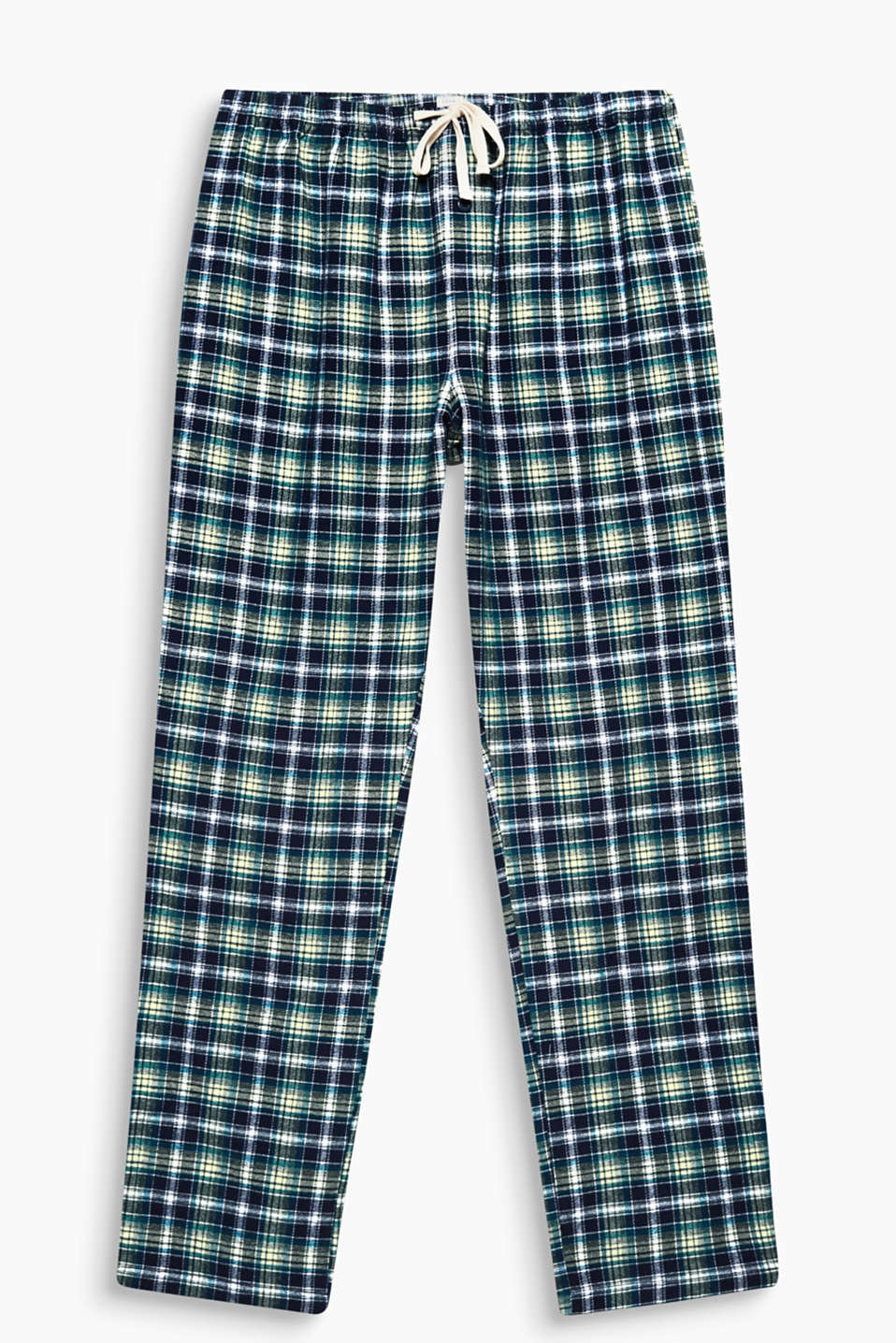 These pyjama bottoms in cotton flannel are super snug and toasty on cold winter nights!