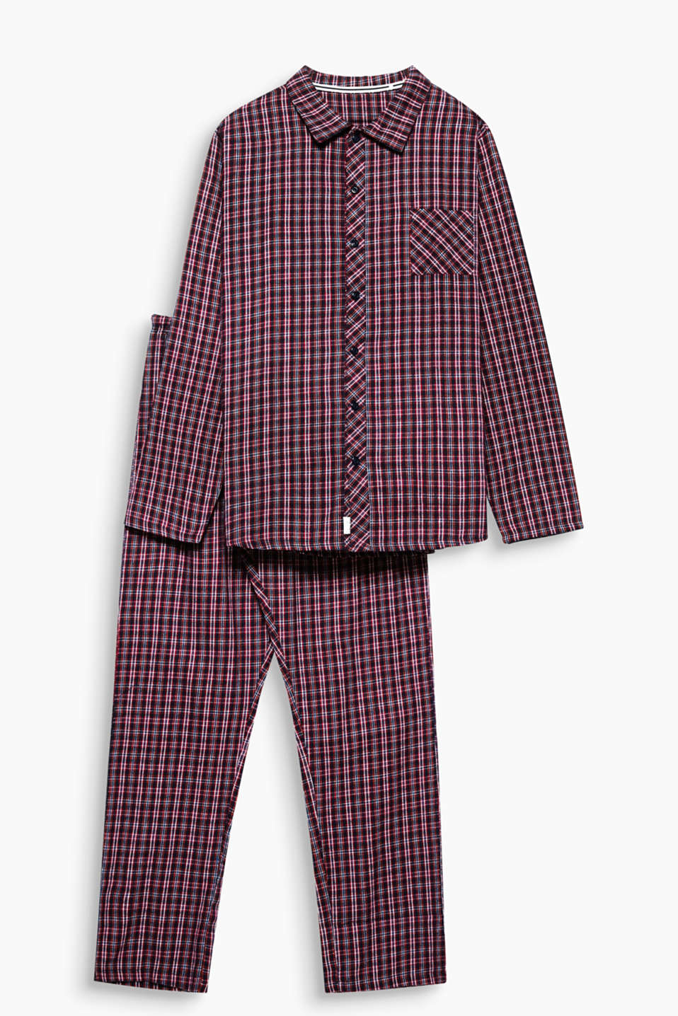 Esprit pyjama en flanelle 100 coton acheter sur la for Pyjama a carreaux