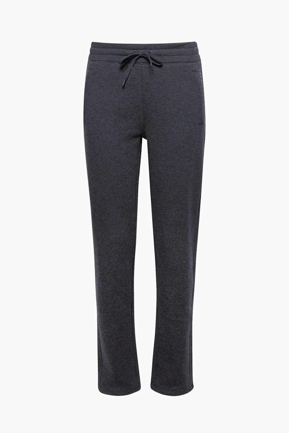 These sweat tracksuit bottoms featuring a brushed inner surface, loose cut and wide elasticated waistband are mega comfy!