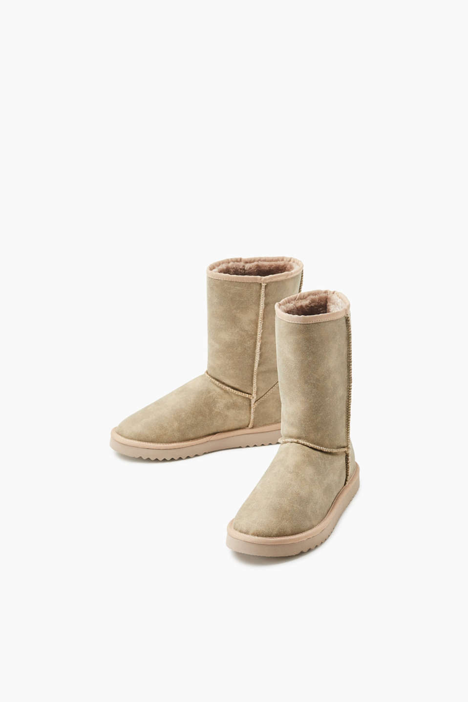 Winter-Boots mit Faux Fur-Futter