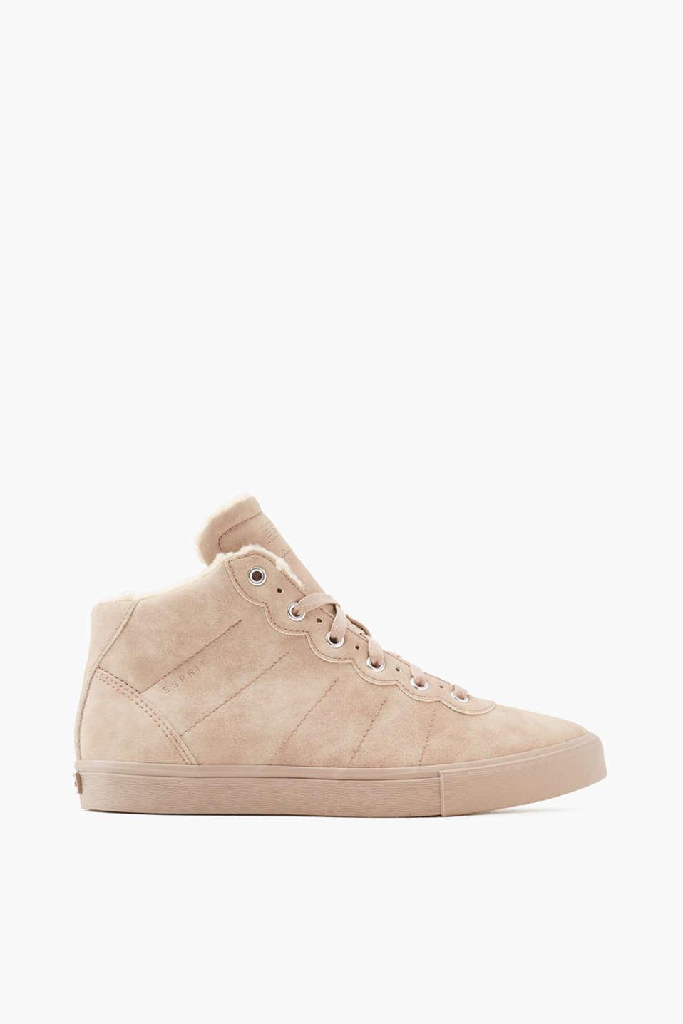 Esprit sneakers montantes vegan acheter sur la - Chaussures vegan esprit ...