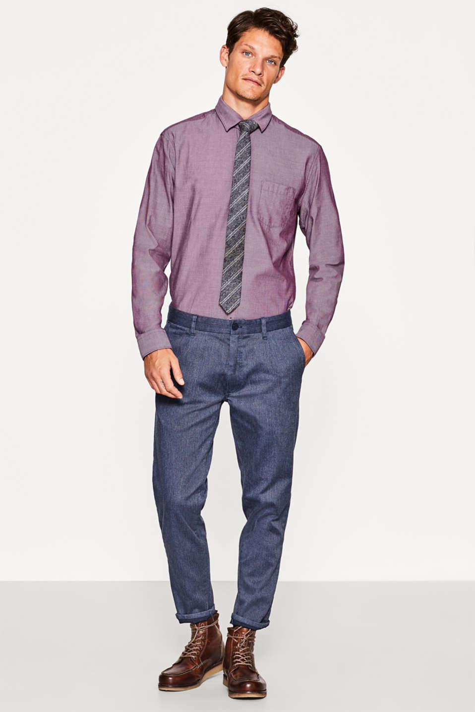 Esprit - Oxford shirt in 100% cotton