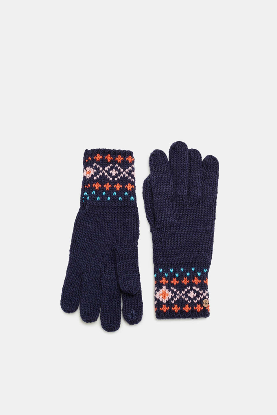 edc - Touchscreen gloves with jacquard pattern