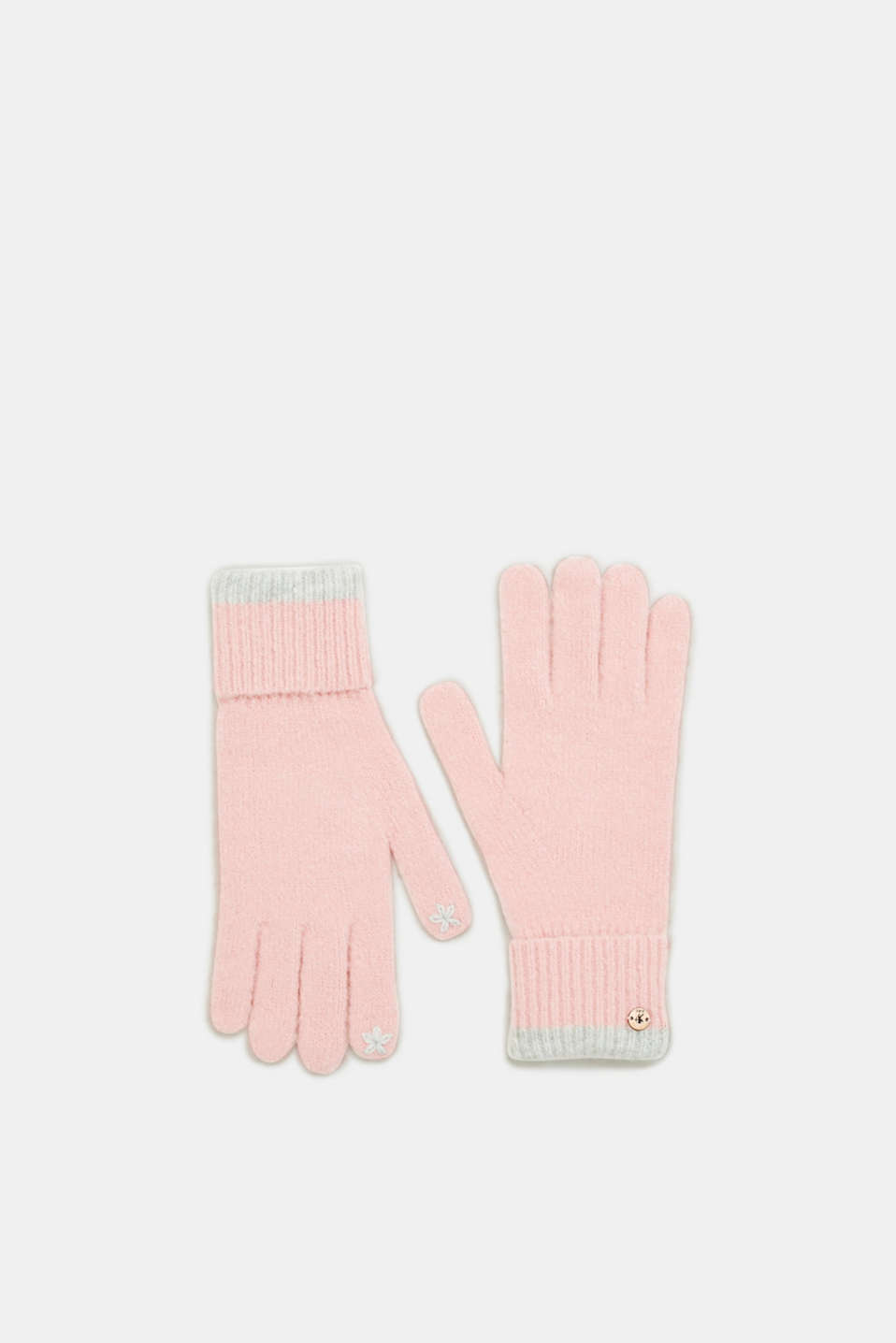 edc - Long touchscreen gloves with stripes