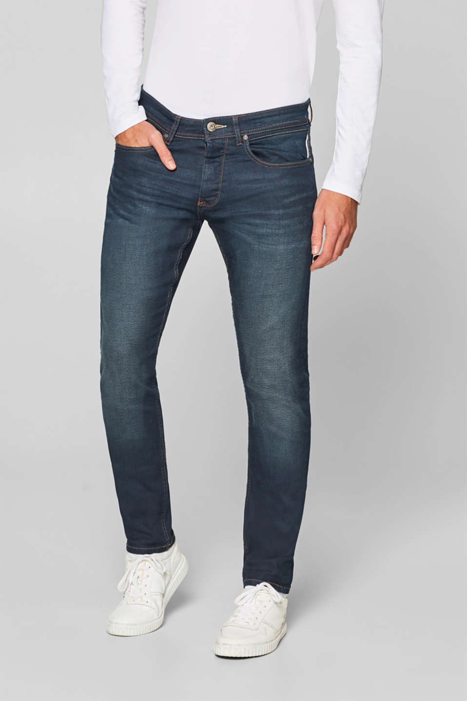 edc - Stone wash stretch jeans