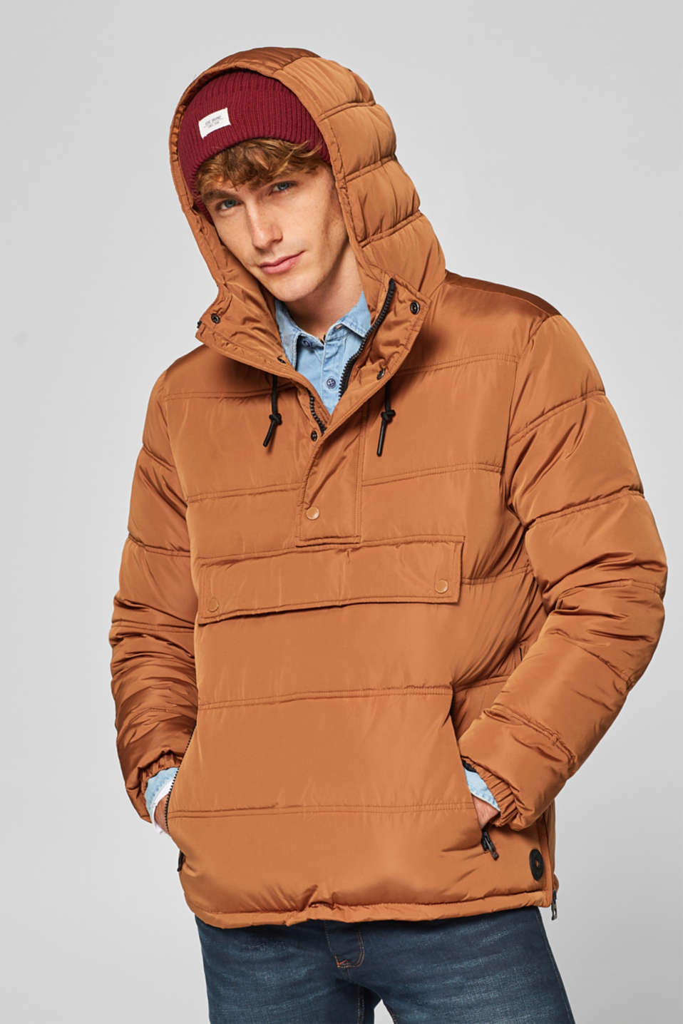 edc - Quilted hoodie