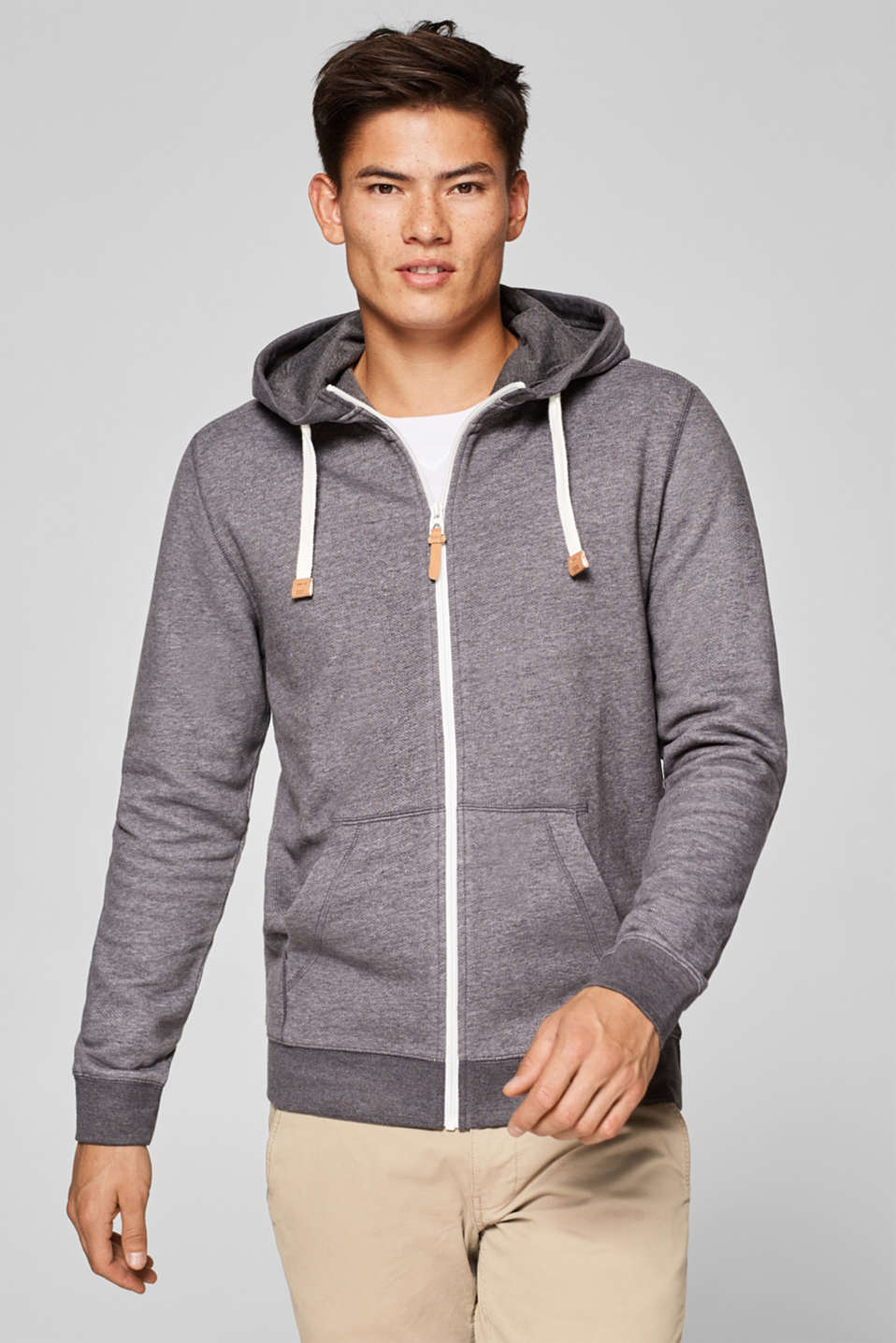 edc - Hooded sweatshirt cardigan