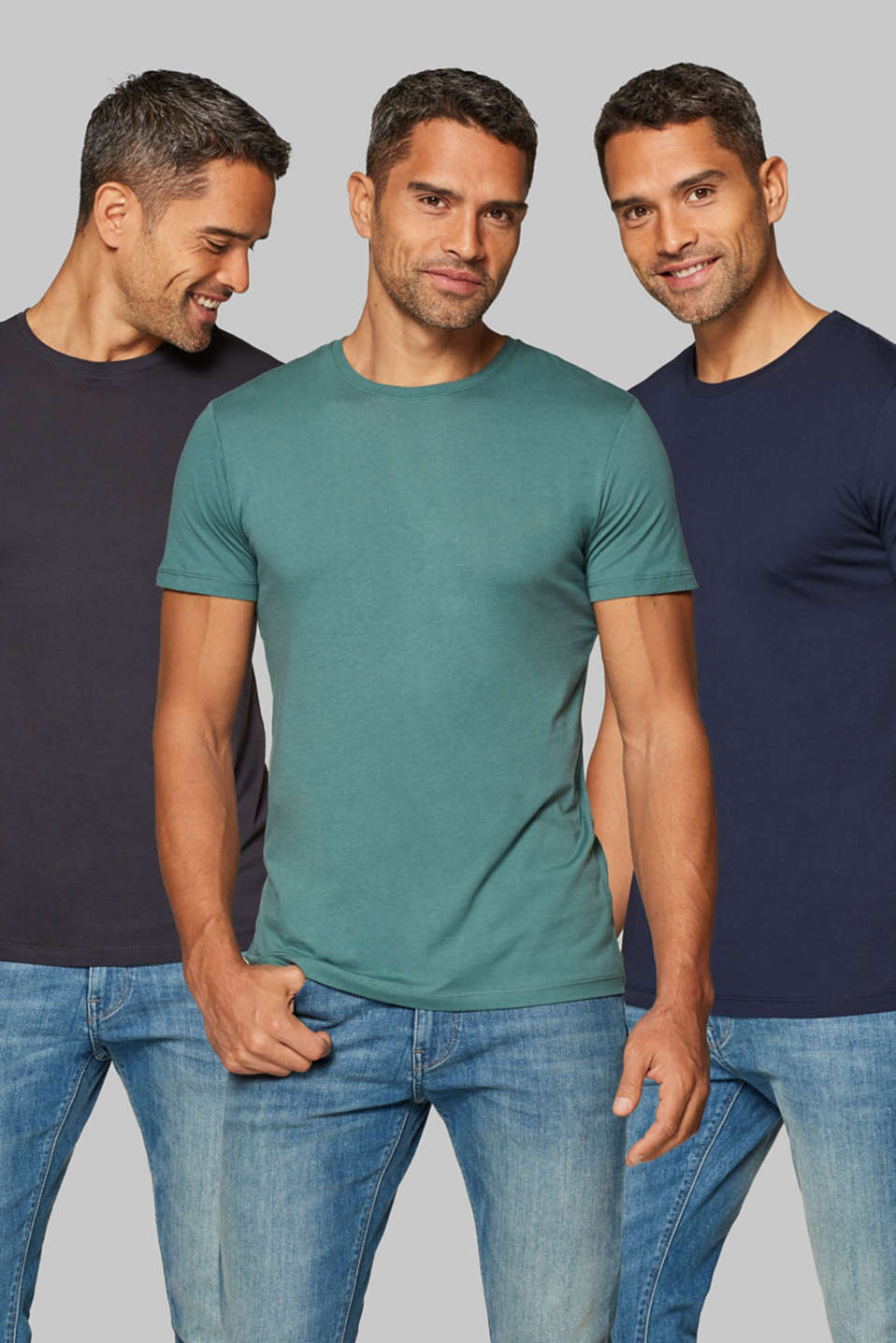 edc - Three pack of jersey T-shirts in 100% cotton