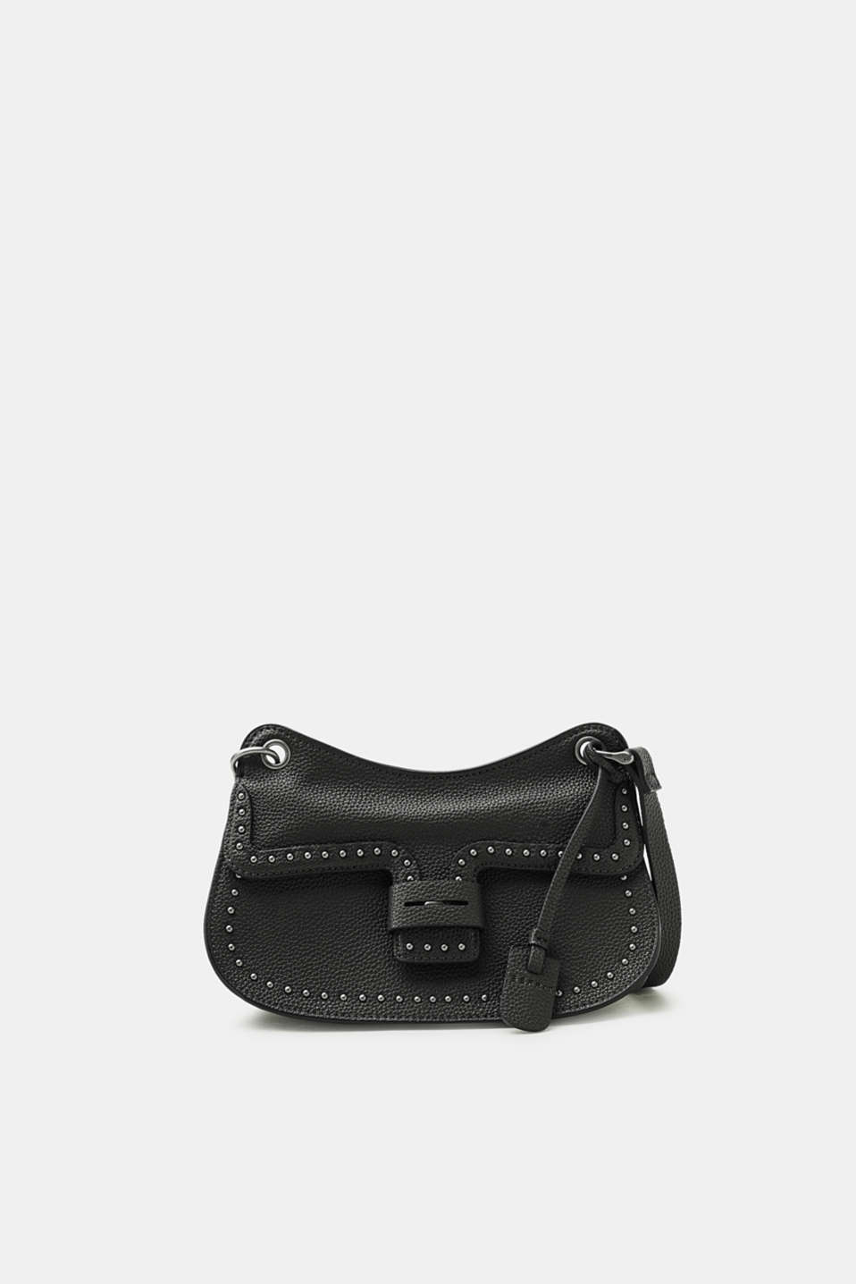 Esprit - Small shoulder bag with studs, in faux leather