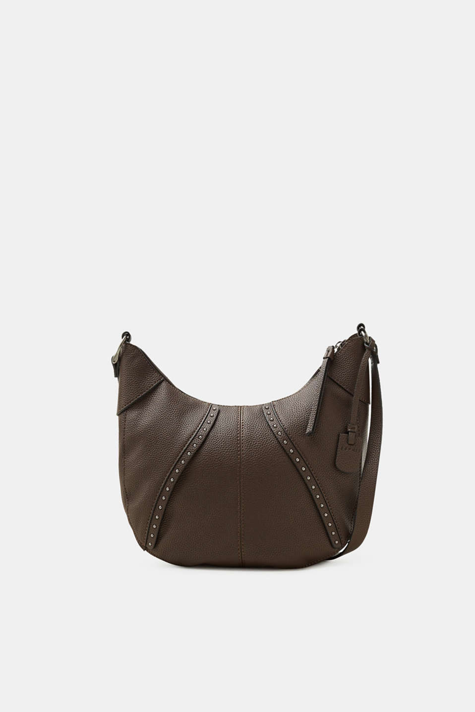 Esprit - Shoulder bag with studs, in faux leather