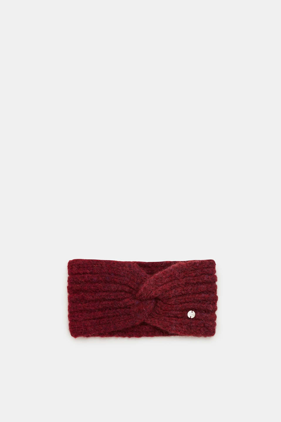 Esprit - Blended wool: Headband with knot detail