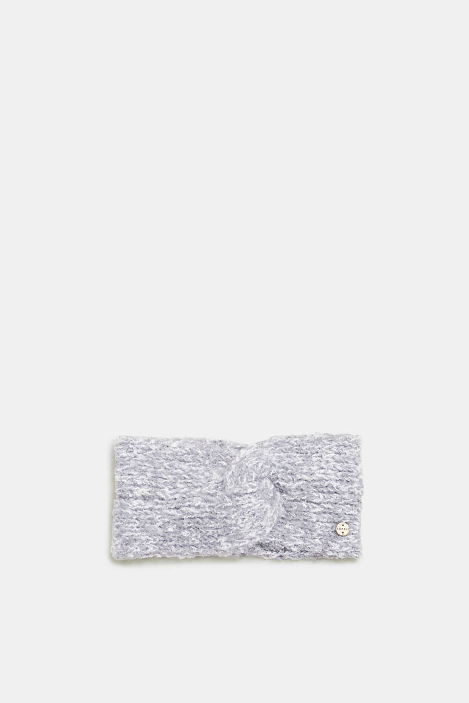 Esprit - Melange headband with a wrap-over effect