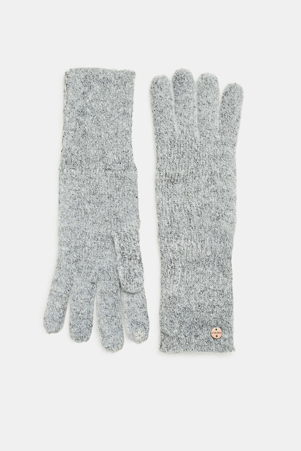 Esprit - Long knitted touchscreen gloves