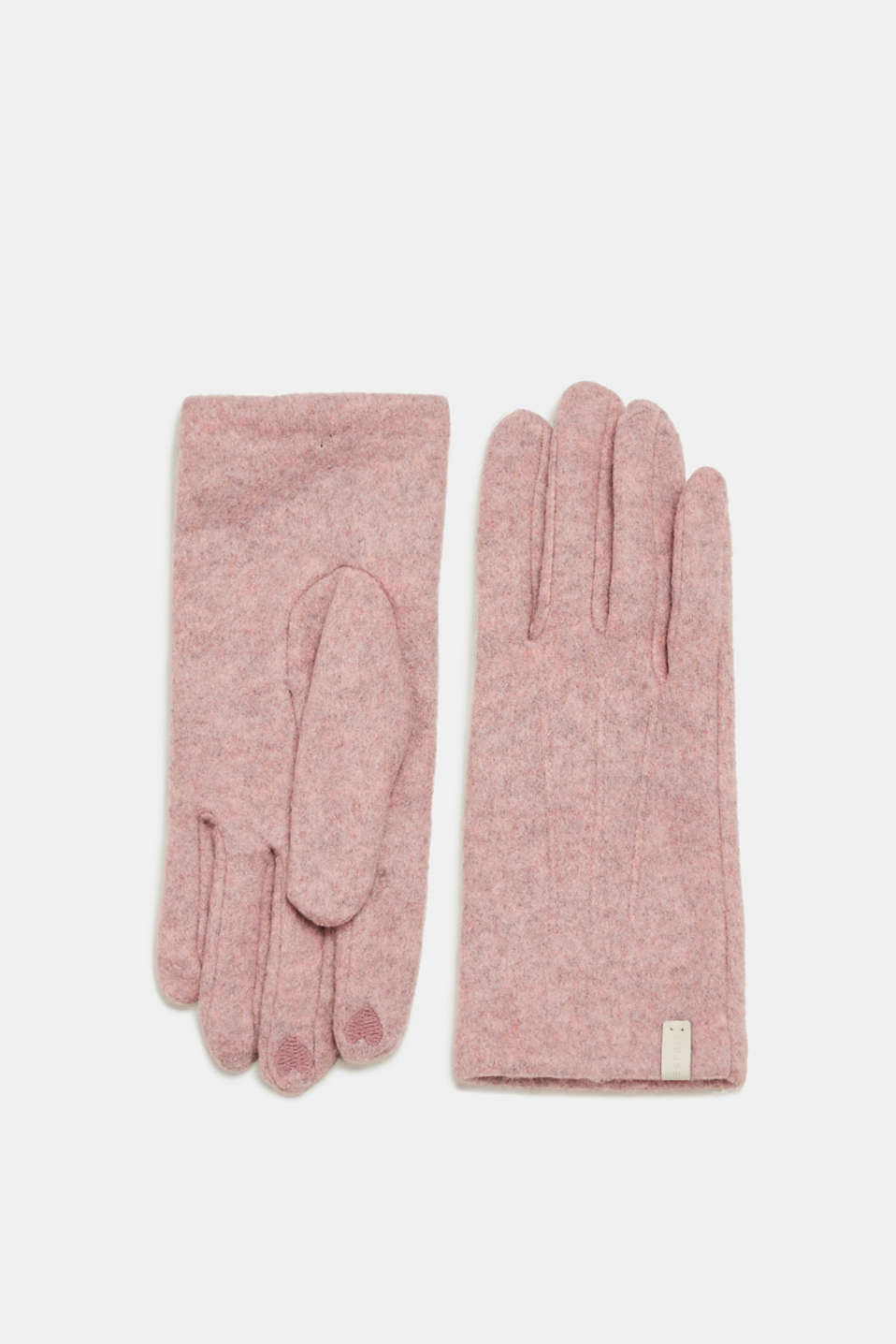 Esprit - Fleece smartphone gloves