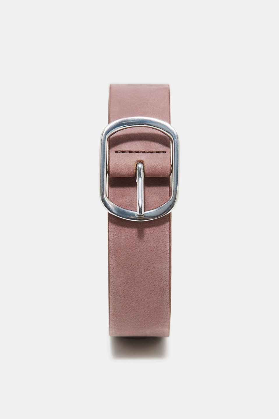 Esprit - Belt made of garment-washed leather