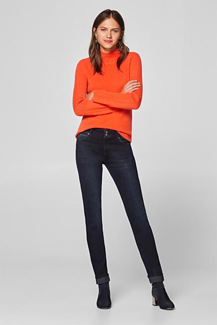 df213f2f831 Super stretch jeans in dark denim