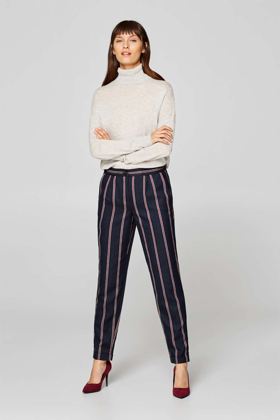 Esprit - Flannel tracksuit bottoms
