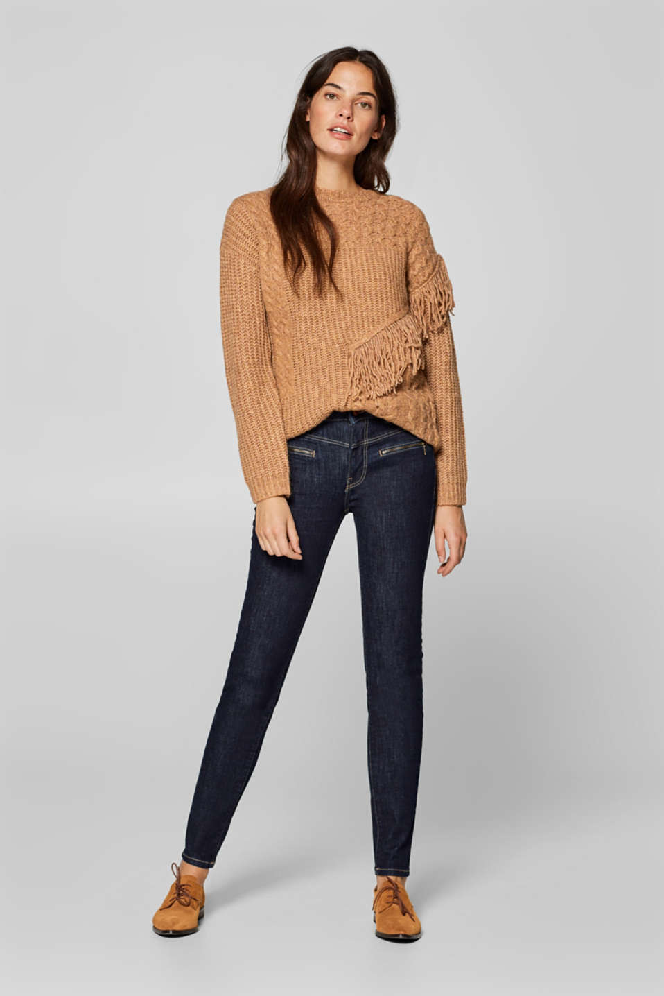 Esprit - Shaping jeans with zip pockets