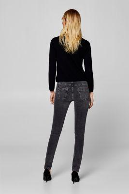 Esprit - Stretch-Jeans mit applizierten Webbändern im Online Shop kaufen aecd9ccc71