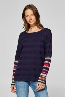 2a80831ab Esprit - Jumper with different patterns at our Online Shop