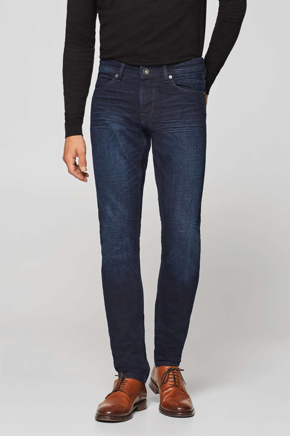 Esprit - Vintage wash stretch jeans