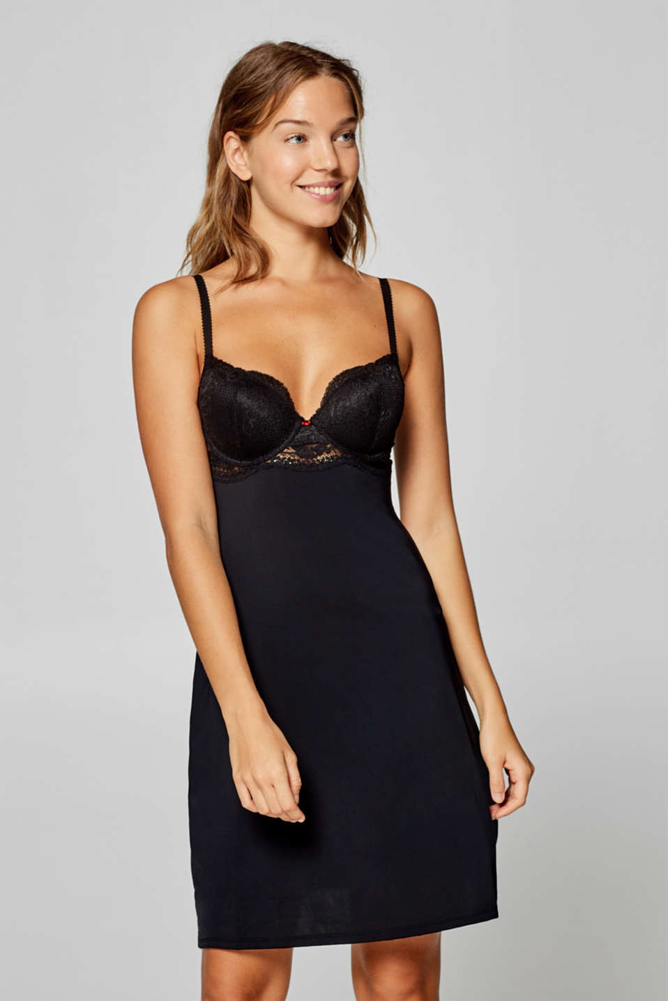 Esprit - Chemise with padded underwire cups