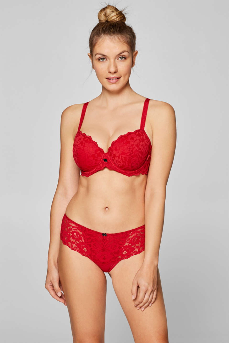Esprit - Padded, underwire bra for large cup sizes