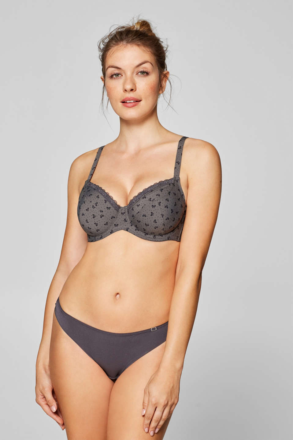 Esprit - Unpadded underwire bra for larger cup sizes