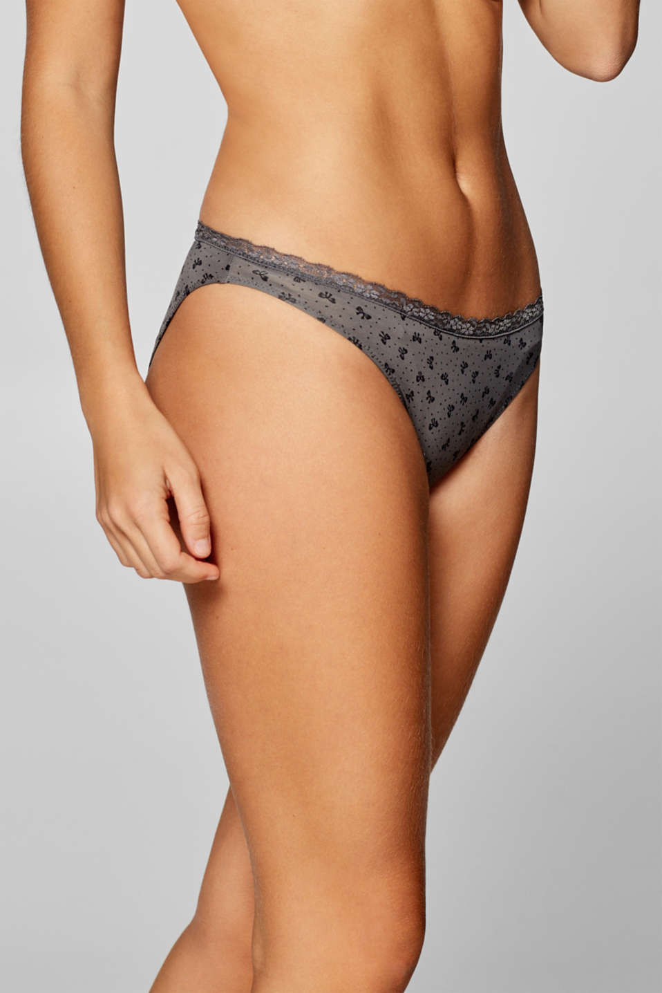 Esprit - Hipster briefs with a bow print