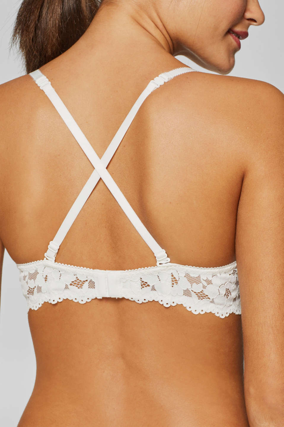 Bras with wire, OFF WHITE, detail image number 4