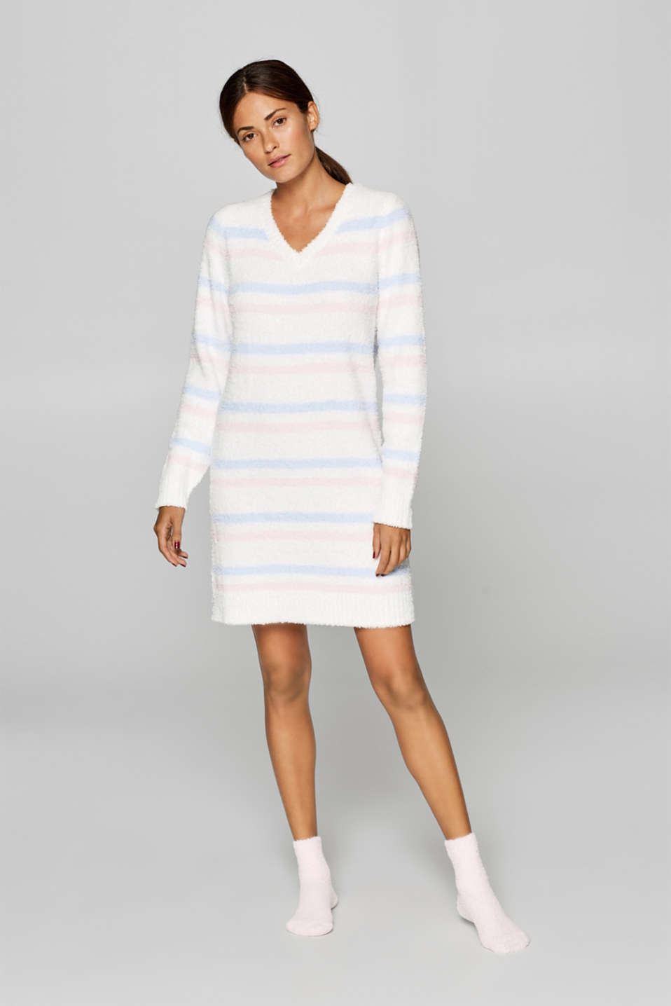 Esprit - SET: Plush dress and cosy socks