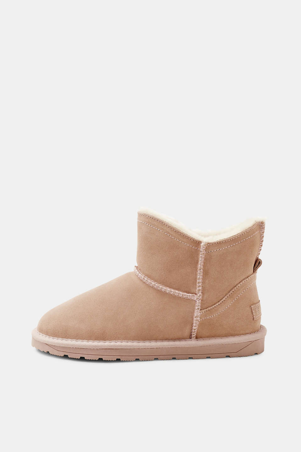 Esprit - Short winter boots with faux fur lining