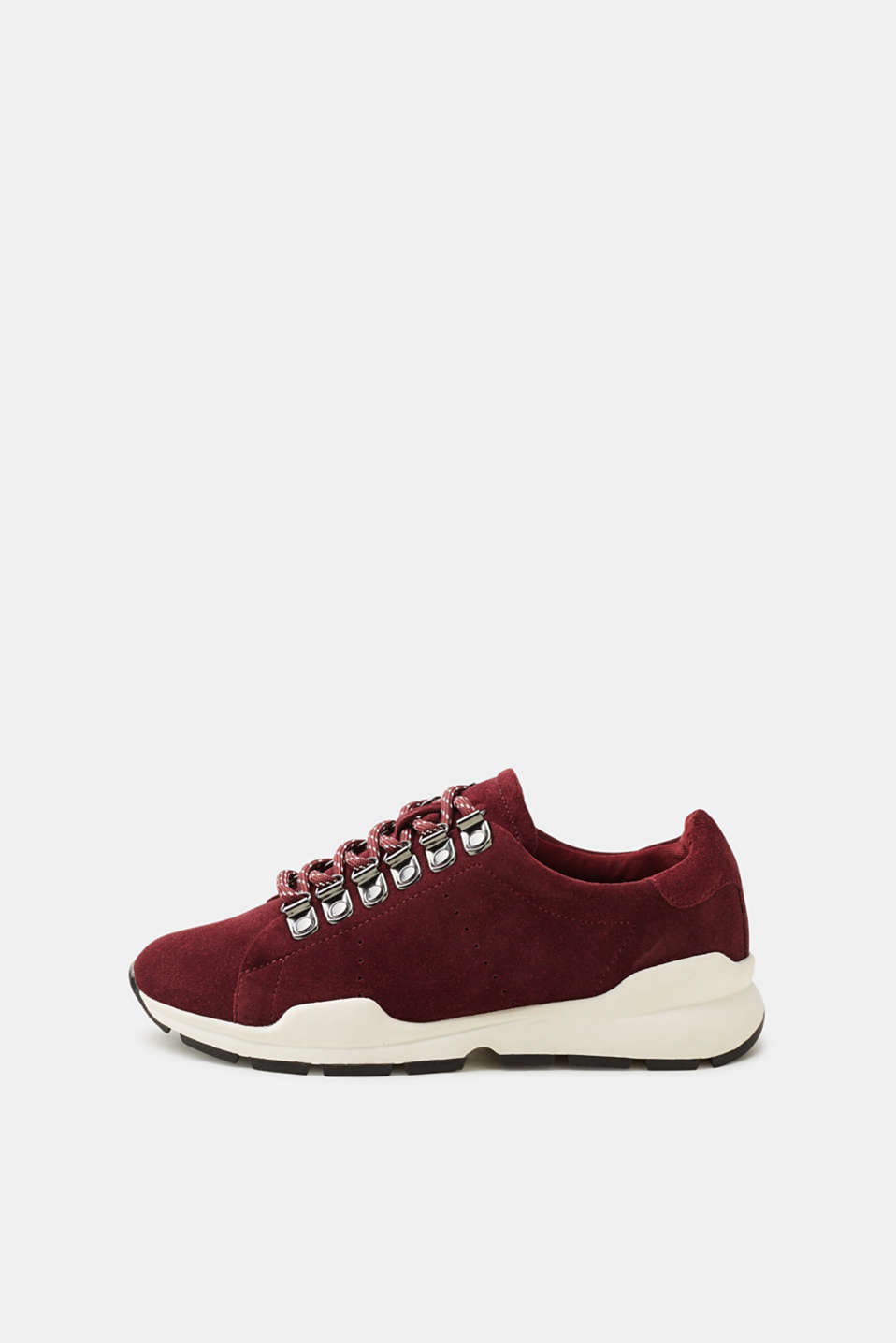 Esprit - Trendy trainers in suede