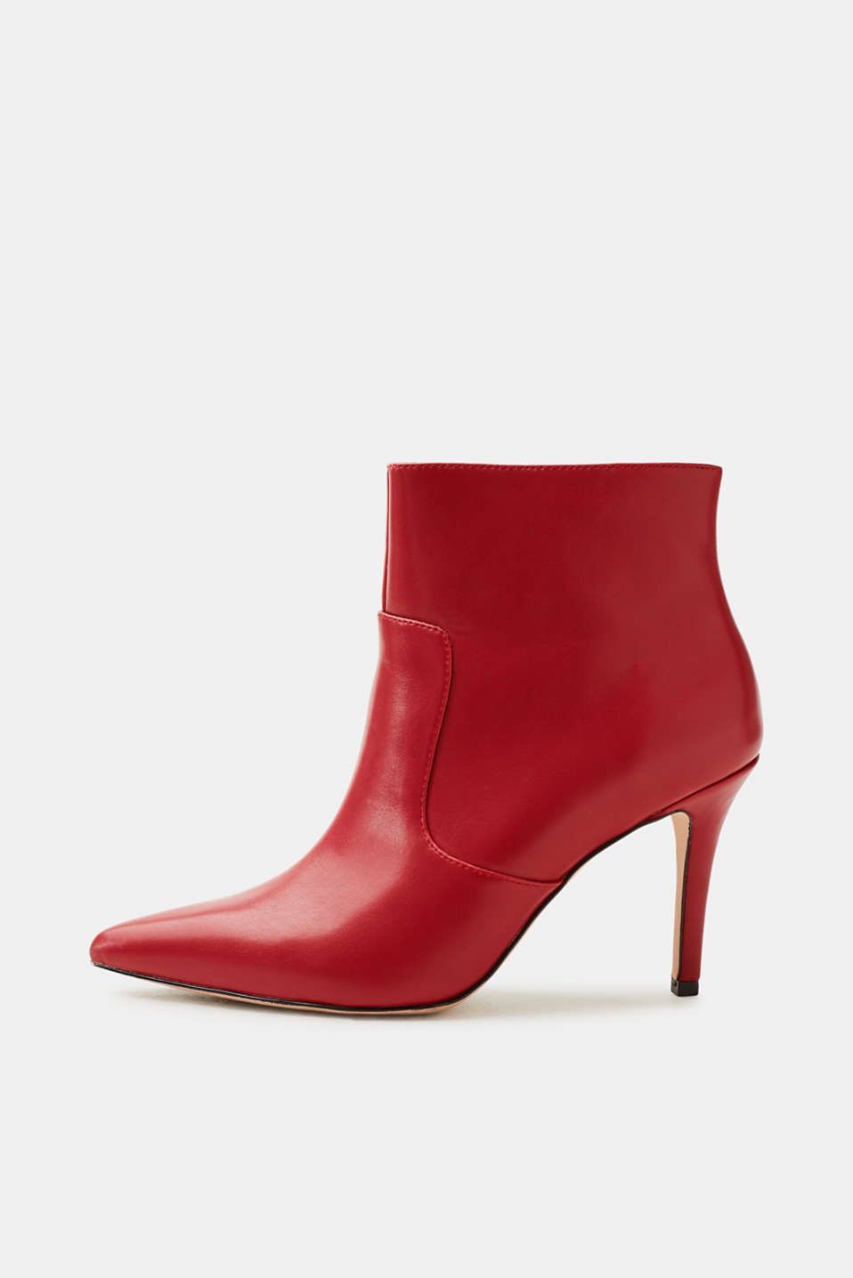 Esprit - Pointed faux leather ankle boots
