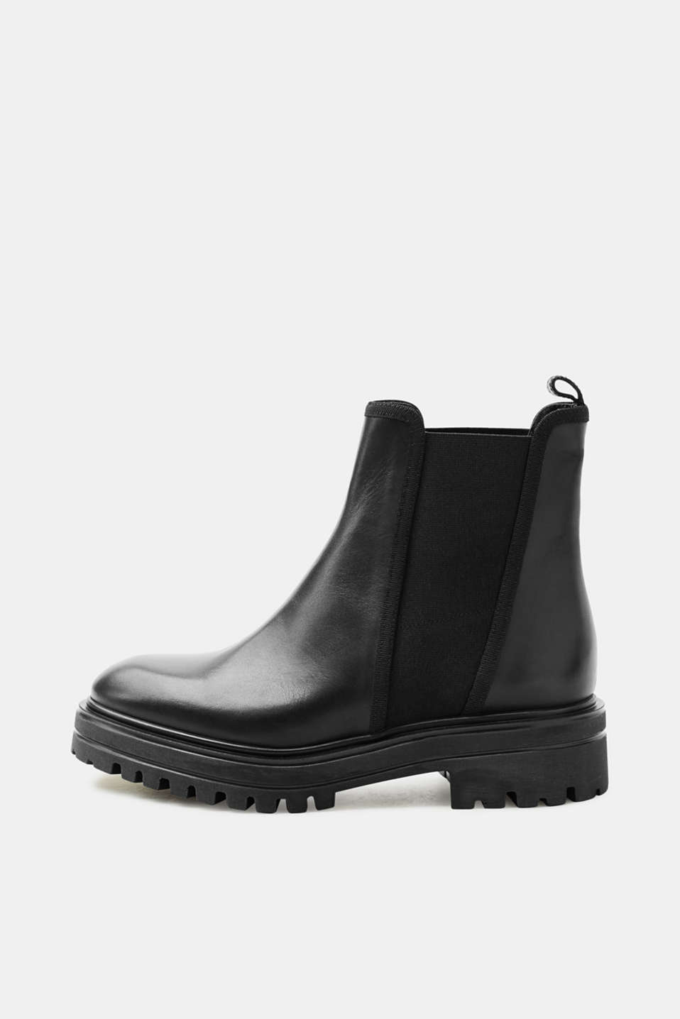Esprit - Chelsea boots with a tread sole
