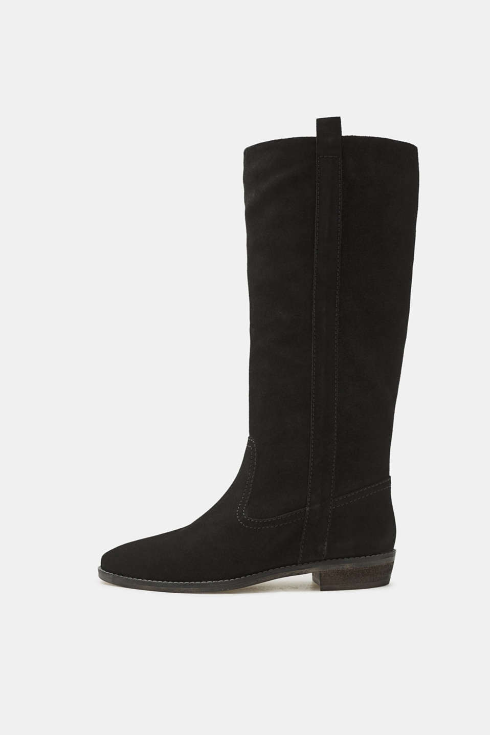 Esprit - Leather riding boot