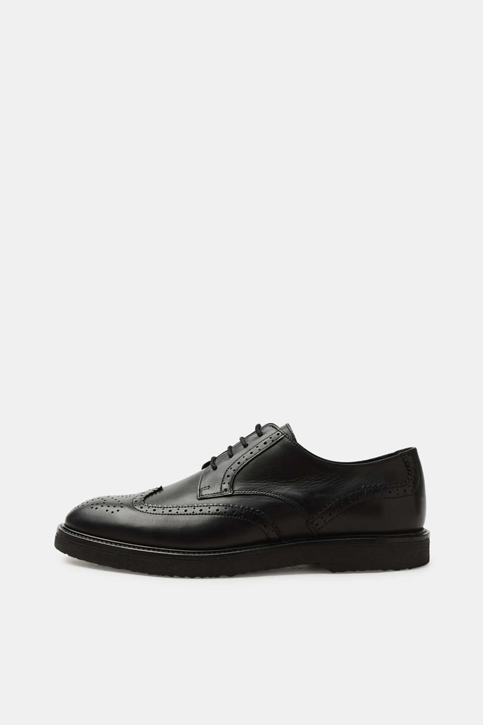 Esprit - Leather brogues