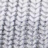 Wool blend: Textured knit beanie, GREY, swatch