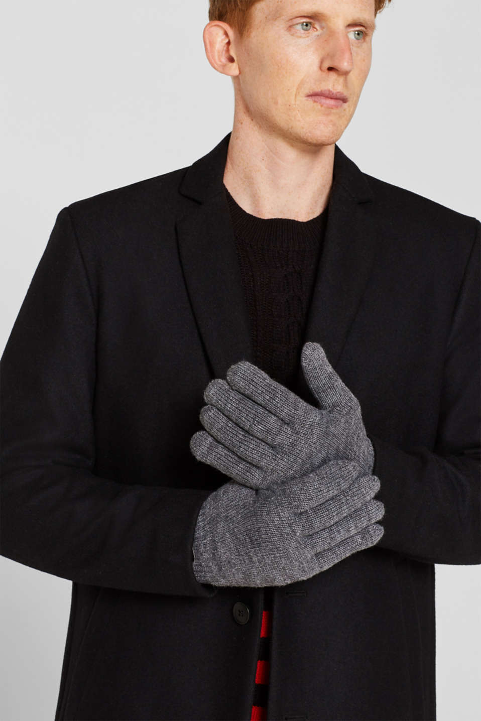 Gloves with 3M™ Thinsulate™ padding, DARK GREY, detail image number 2
