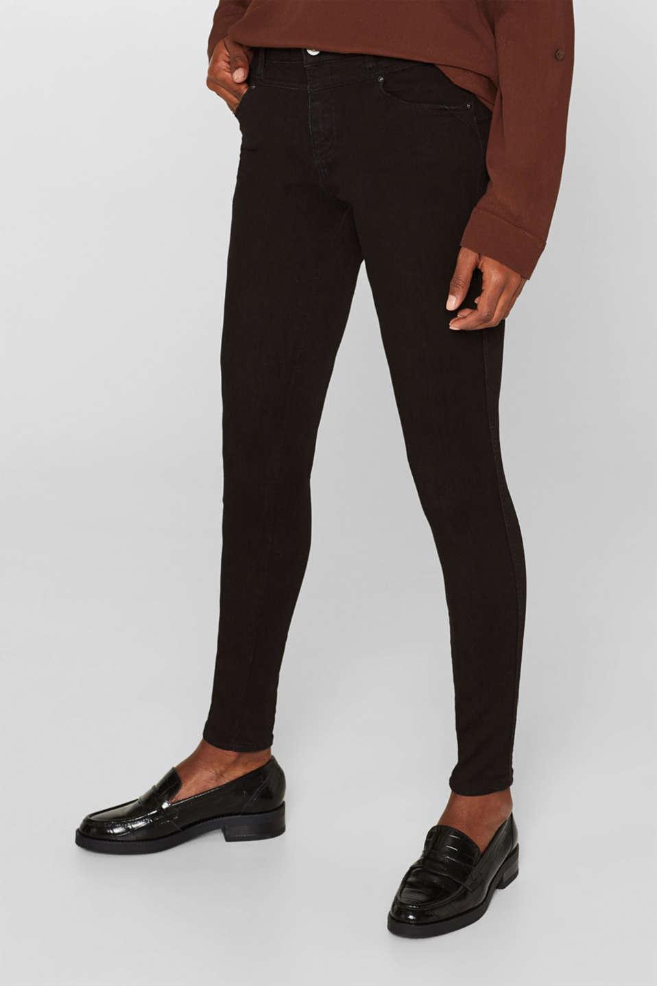 Pants denim, BLACK RINSE, detail image number 7