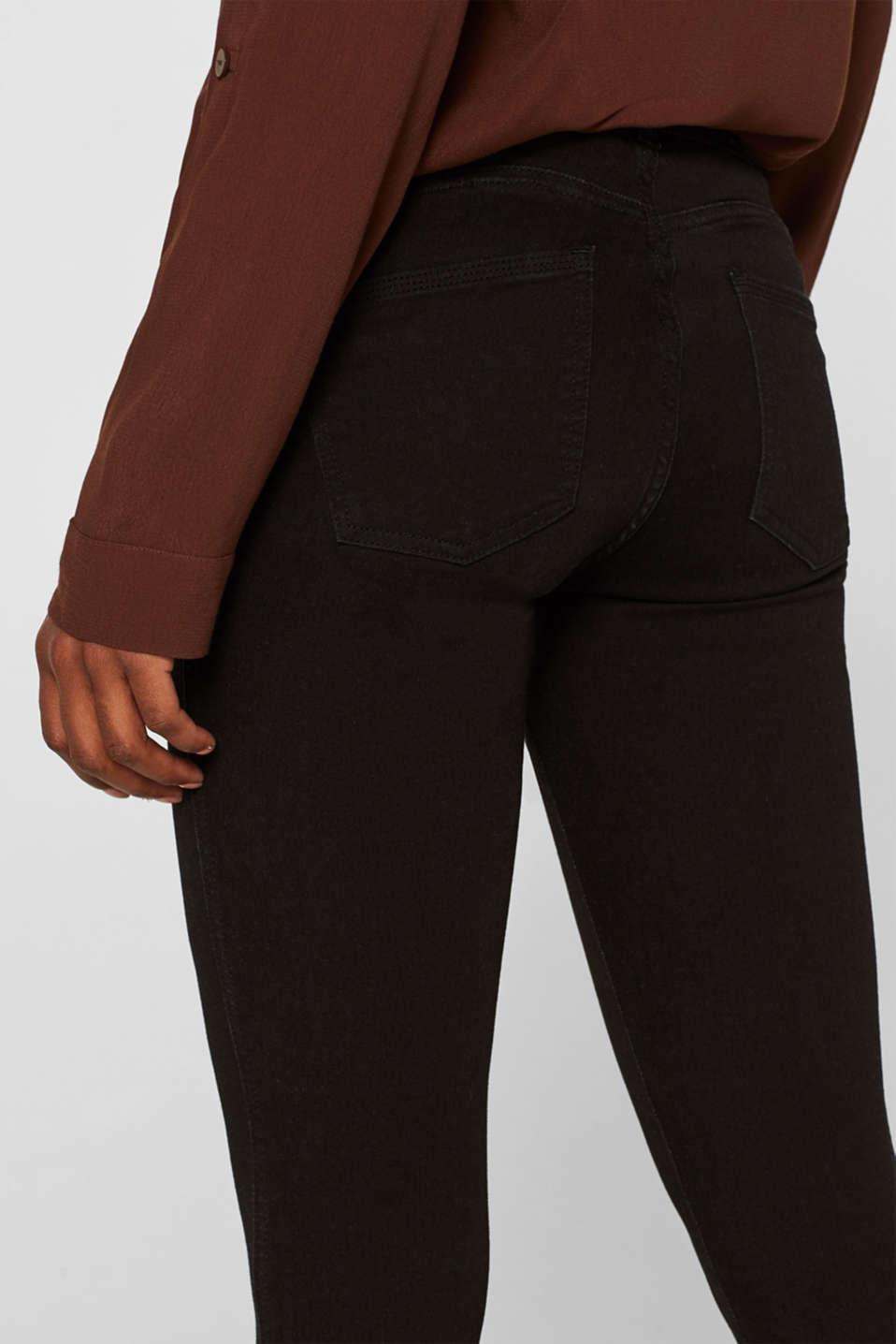 Pants denim, BLACK RINSE, detail image number 2