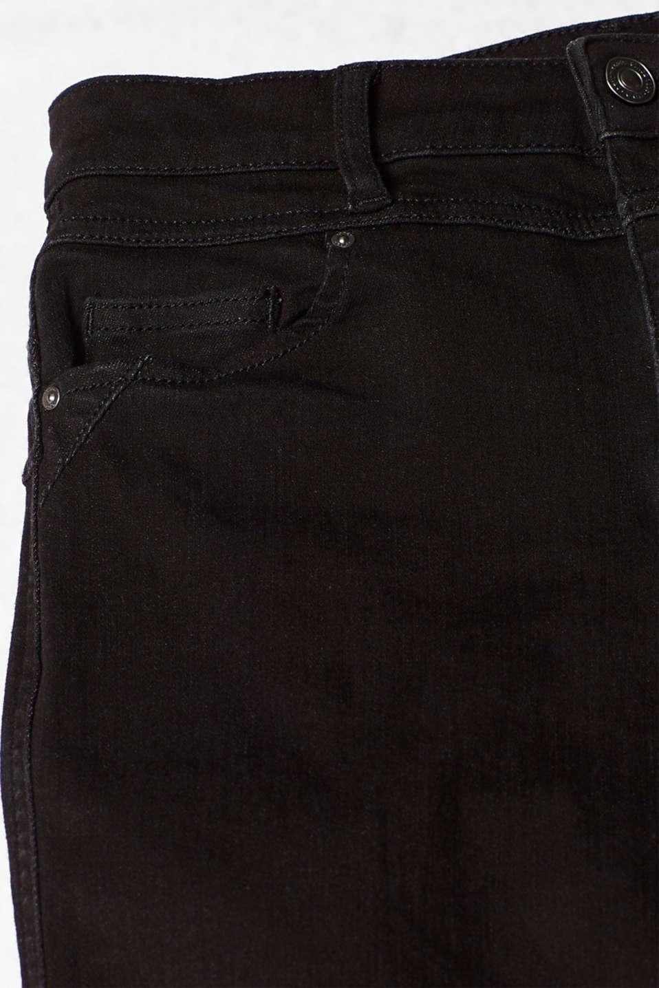 Pants denim, BLACK RINSE, detail image number 4