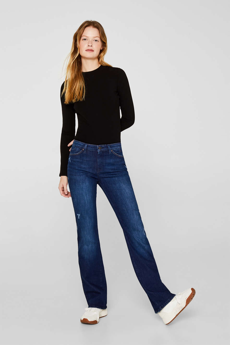 edc - Superstretch Jeans mit Organic Cotton