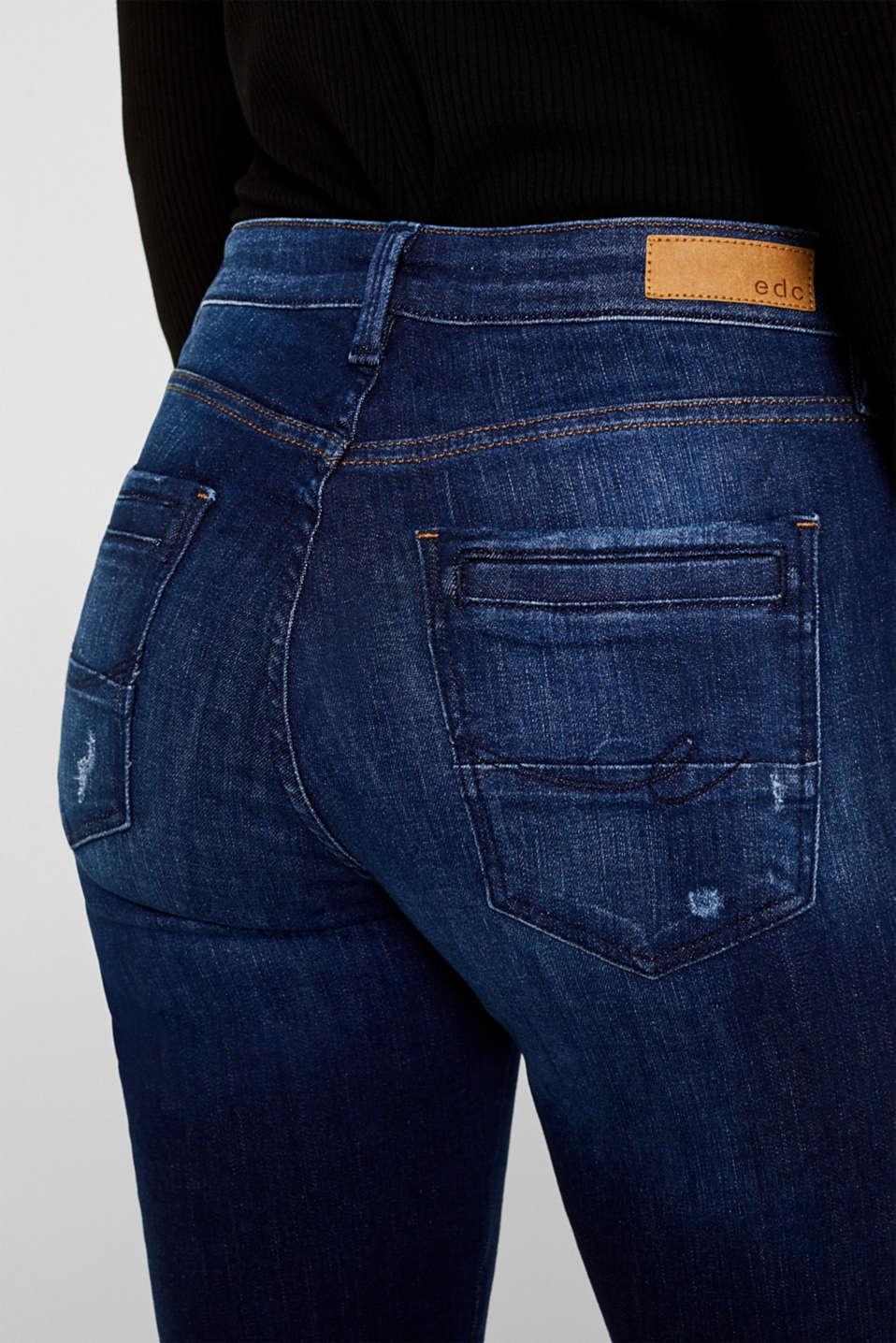 Pants denim, BLUE DARK WASH, detail image number 5