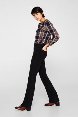 Stretch jeans with embellished pockets, BLACK RINSE, detail