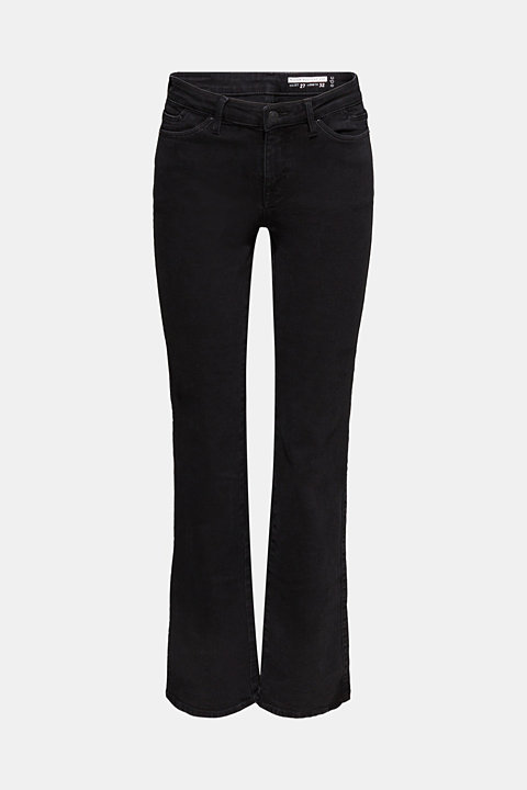 Stretch jeans with embellished pockets