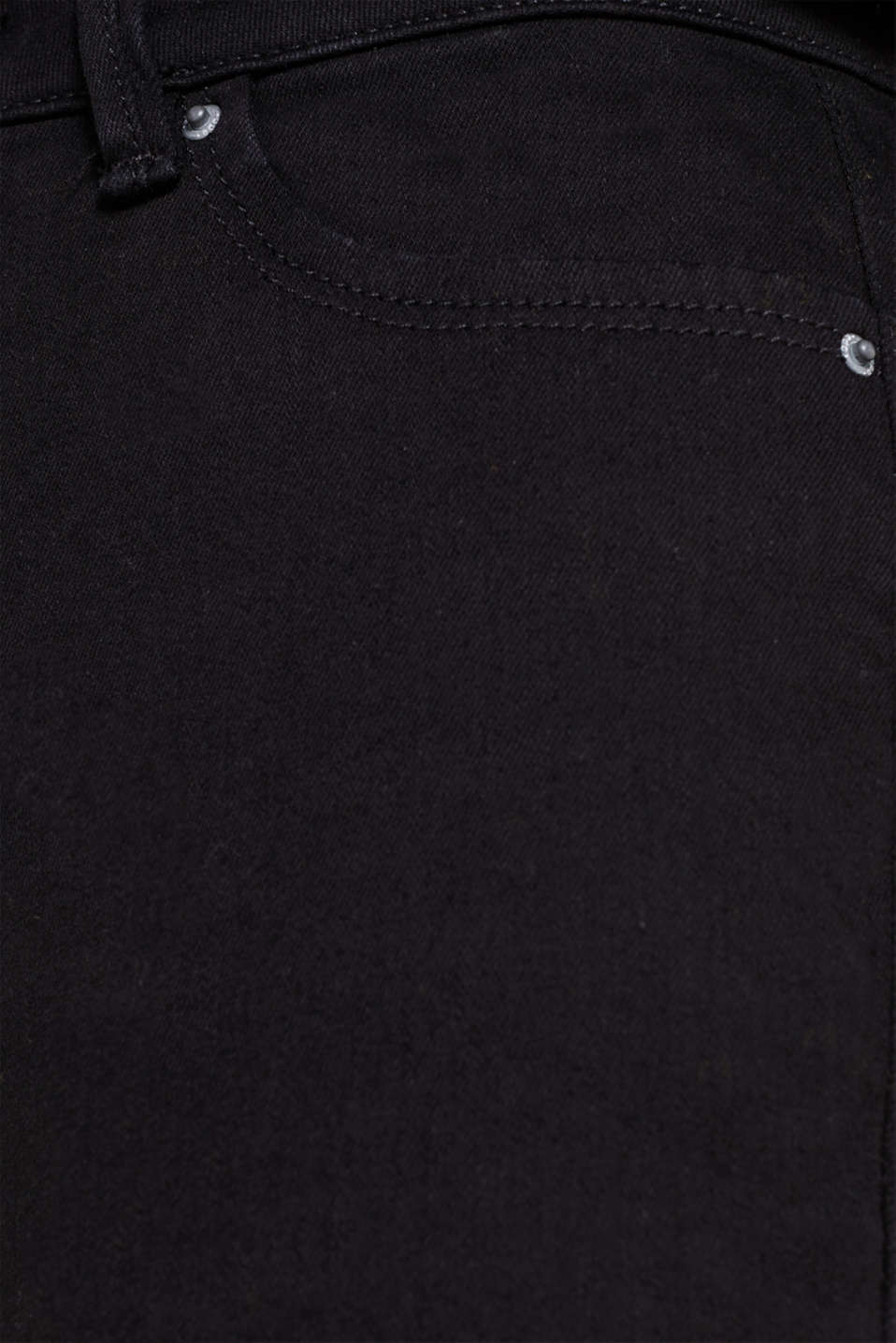 Shaping jeans, recycled, BLACK RINSE, detail image number 4