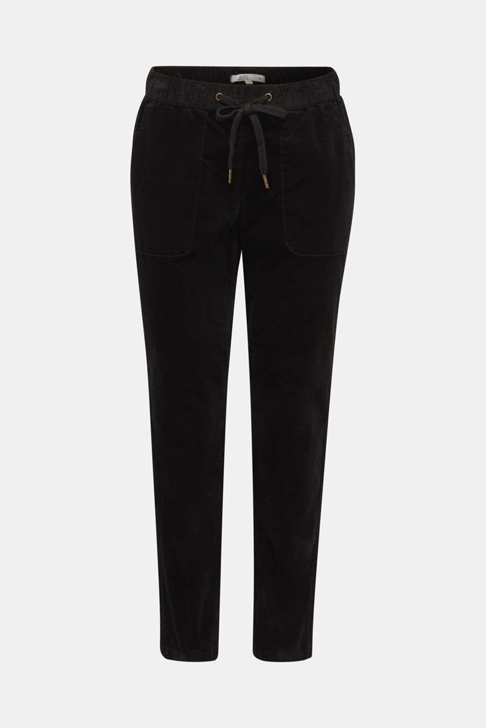 Pants woven, BLACK, detail image number 7