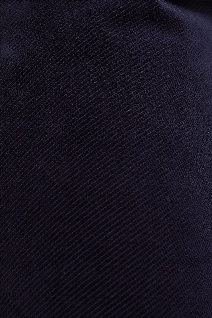 Stretch corduroy tracksuit bottoms, NAVY, detail image number 4